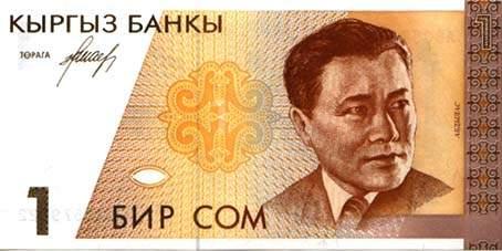 Курс киргизского сома к доллару